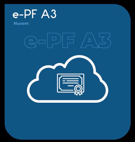 Certificado Digital Pessoa Física em Nuvem (BirdID PF A3) 1 ano