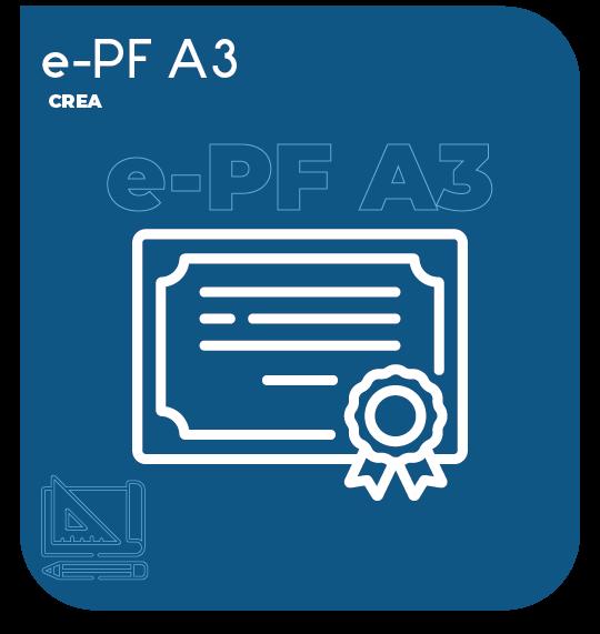 Certificado Digital para ENGENHEIRO (e-PF A3) 3 anos